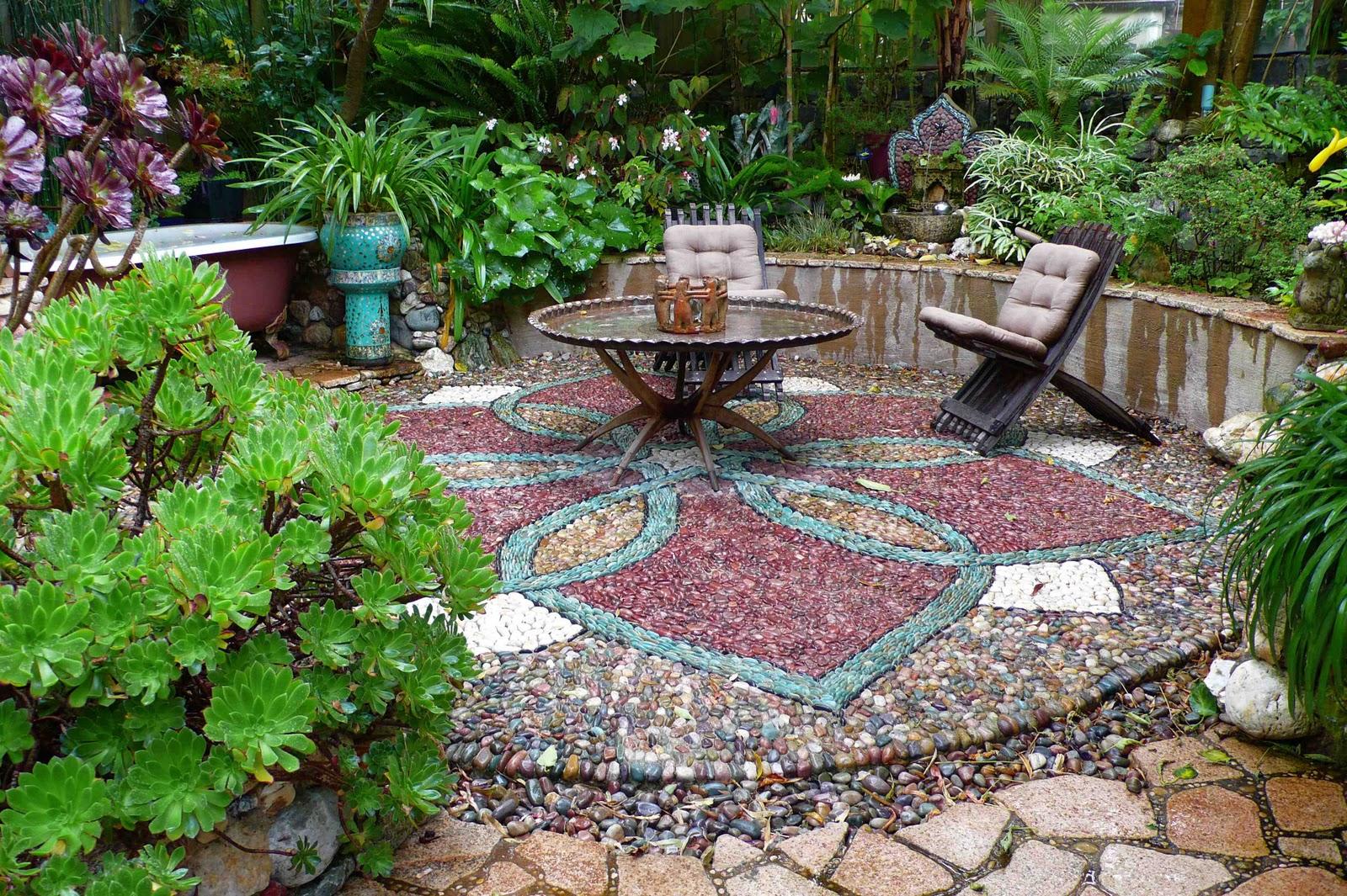 Как сделать сад во дворе